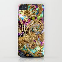 iPod Touch Cases featuring Paisley Overdose by Joke Vermeer