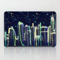 Dusk Falls Over Manhattan iPad Case