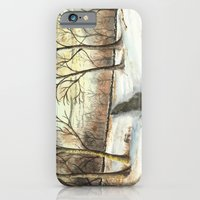iPhone & iPod Case featuring Snowy Forest by Donna Marie Strachan