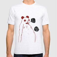 im apples Mens Fitted Tee Ash Grey SMALL