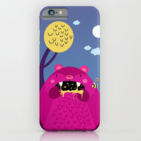 The bear and the bees iPhone & iPod Case