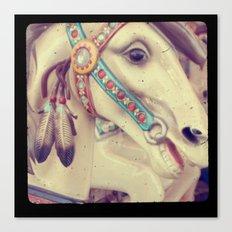Native Carousel Canvas Print