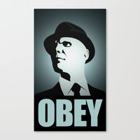 OBEY (Fringe) Canvas Print