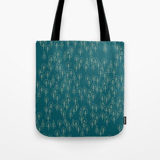 Geometric Woods Ver. 2 Tote Bag