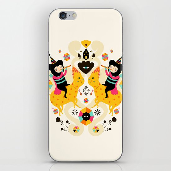 Music is happiness iPhone & iPod Skin