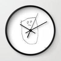 [drum] - nadya 3 yr Wall Clock