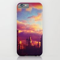 iPhone & iPod Case featuring London Sunset by Efua Boakye