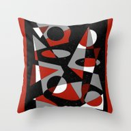 Abstract #121 Throw Pillow