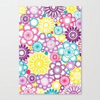 BOLD & BEAUTIFUL Blooms Canvas Print