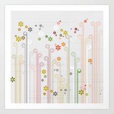 PatternPlay Series - v12 Art Print
