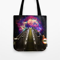 Stairway to Nowhere and Everywhere | London Tube Series Tote Bag
