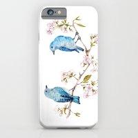 Mountain Bluebirds On Sa… iPhone 6 Slim Case