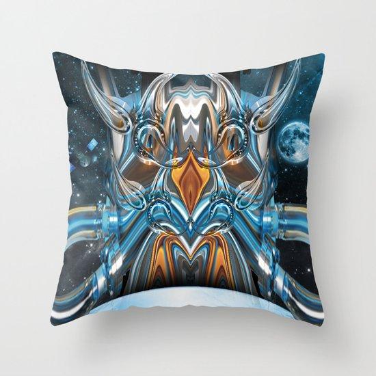 ion rising Throw Pillow