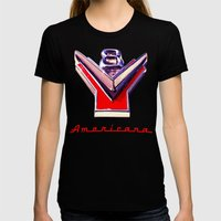 V8 Womens Fitted Tee Black SMALL