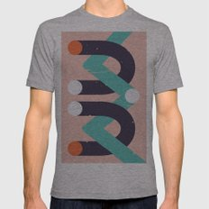 Devi Mens Fitted Tee Athletic Grey SMALL