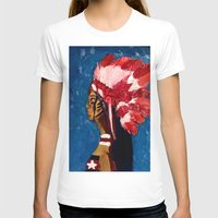 native american T-shirts featuring Native American by Ksuhappy