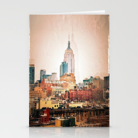 NYC Vintage style Stationery Card