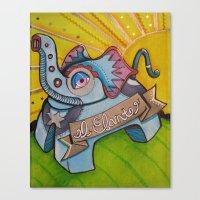 El Efante Canvas Print