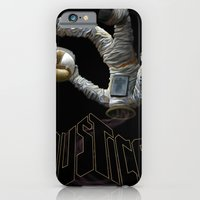 iPhone & iPod Case featuring Justice-Planisphere by Brian DeYoung Illustration