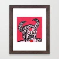 Barry Hole in The Head Framed Art Print