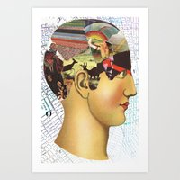 Mind Map Art Print