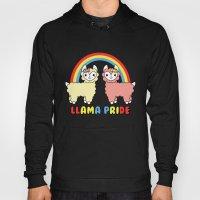 Cute Kawaii Llama Pride … Hoody
