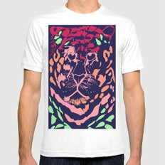Tiger SMALL White Mens Fitted Tee