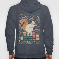 Merry Little Squirrel  Hoody