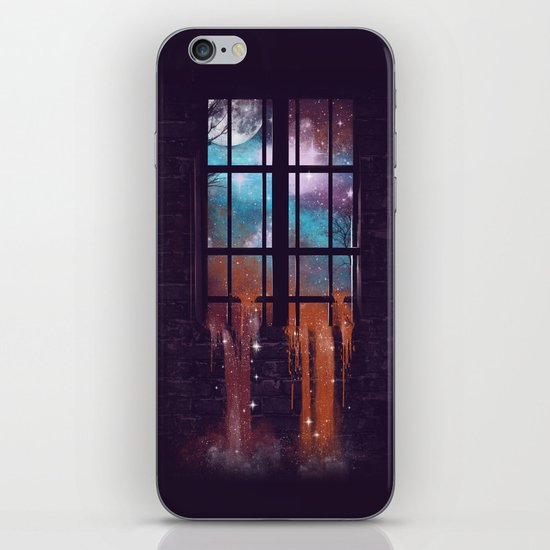 Let the Stars Flow Into You V.2 iPhone & iPod Skin