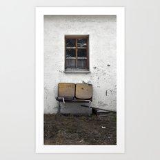 Garden Furniture... Art Print
