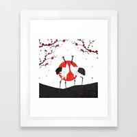 Love's Dance - Spring Version Framed Art Print