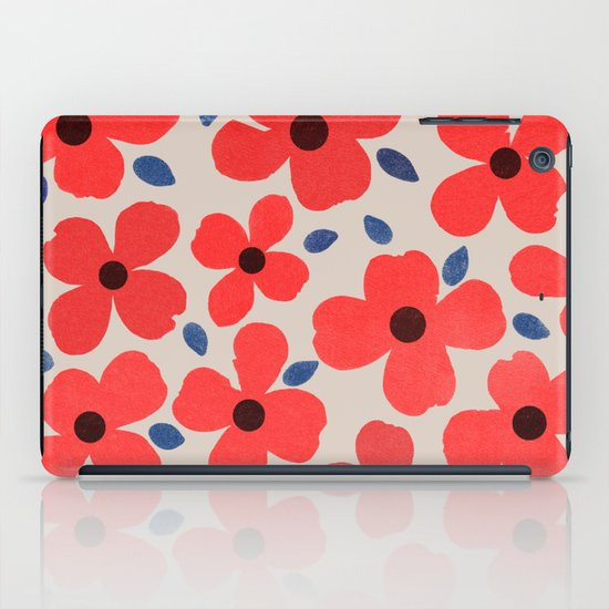 Dogwood Red iPad Case