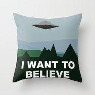 I Want To Believe Minima… Throw Pillow