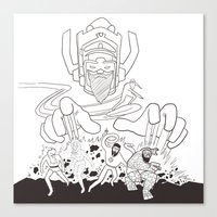 Fantastic Beards Canvas Print
