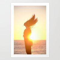 Subdued Sunlight. Art Print