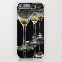 Three Martini's and three olives.  iPhone 6 Slim Case