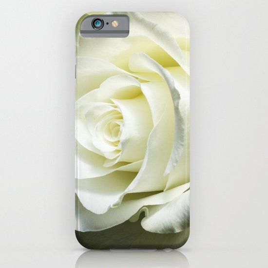 White rose iPhone & iPod Case
