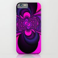 iPhone & iPod Case featuring Pink and Purple  by Christy Leigh