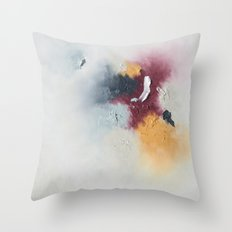 Color Study Throw Pillow
