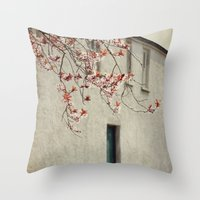 Lonely House Throw Pillow