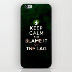 Keep Calm and Blame it On the Lag (COD, Black Ops, Modern Warfare, Call of Duty, Parody) iPhone & iPod Skin
