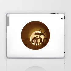 Circus. Lion tamer (Cirque. Dompteur) Laptop & iPad Skin