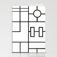 PS Grid Stationery Cards