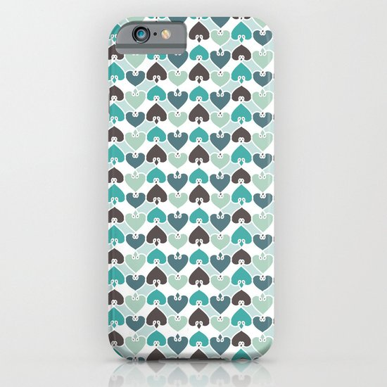 Sea of hearts pattern iPhone & iPod Case