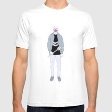 Payaso SMALL White Mens Fitted Tee