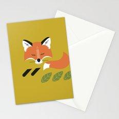 Resting Fox Stationery Cards