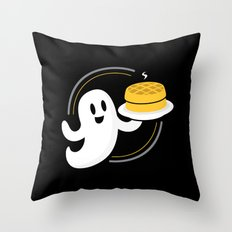 Ghost Waffles (Podcast) Throw Pillow