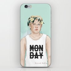 Flower Crown Niall iPhone & iPod Skin