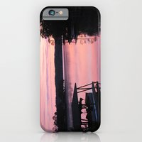 iPhone & iPod Case featuring Pink Sunset by grandmat