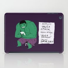 Hulk To Do List. iPad Case